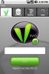 VIVO-id for Android screenshot 0