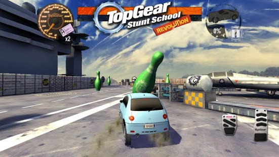 Top Gear: Stunt School SSR Pro- screenshot thumbnail