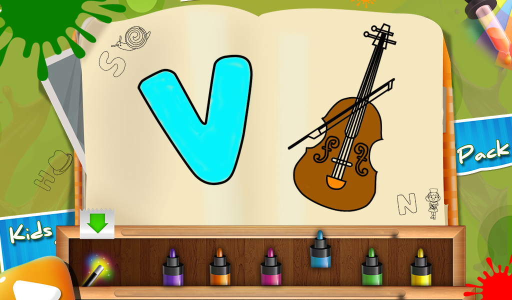 Paint Me - Kids Painting Game - Android Apps on Google Play