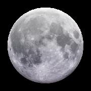 Moon 3D Glow 2.5 Icon