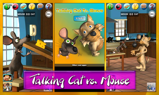 Talking Cat Vs. Mouse Deluxe