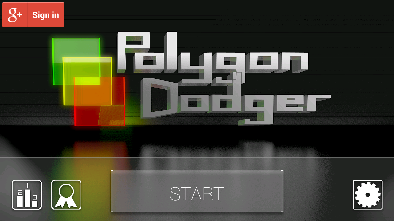 Polygon Dodger - screenshot