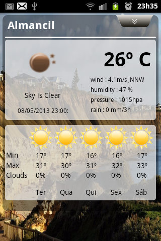 my Weather Info - screenshot