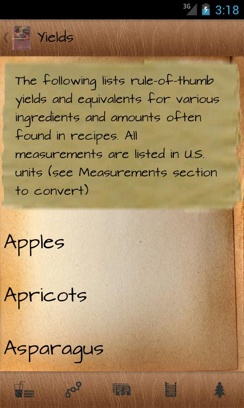 KnowledgeBook: Cooking - screenshot
