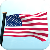 US Flag 3D Free Live Wallpaper