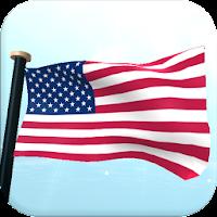 US Flag 3D Free Live Wallpaper 1.23