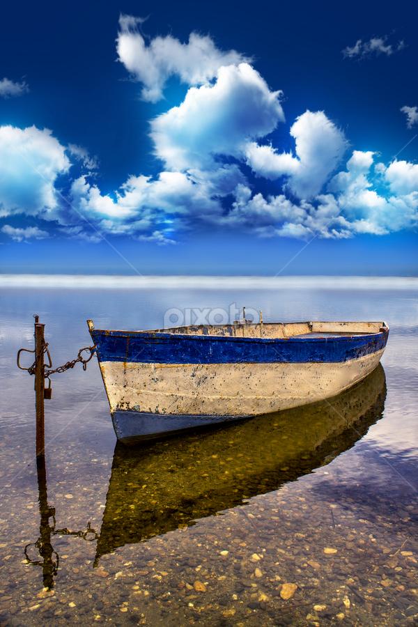 by Горан Ѓоровски - Transportation Boats ( #lake, #macedonia, #canon, #boat )