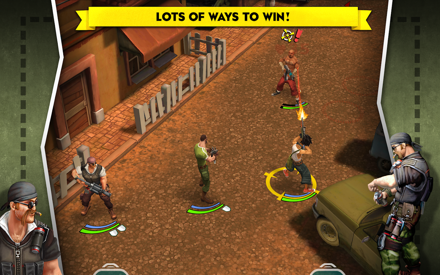 AntiSquad Tactics- screenshot