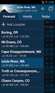 NOAA Weather Free - screenshot thumbnail