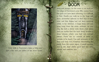 Screenshot of The Forest of Doom