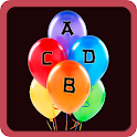 ABCD Balloon game/Learn ABCD