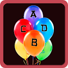 ABCD Balloon game/Learn ABCD icon