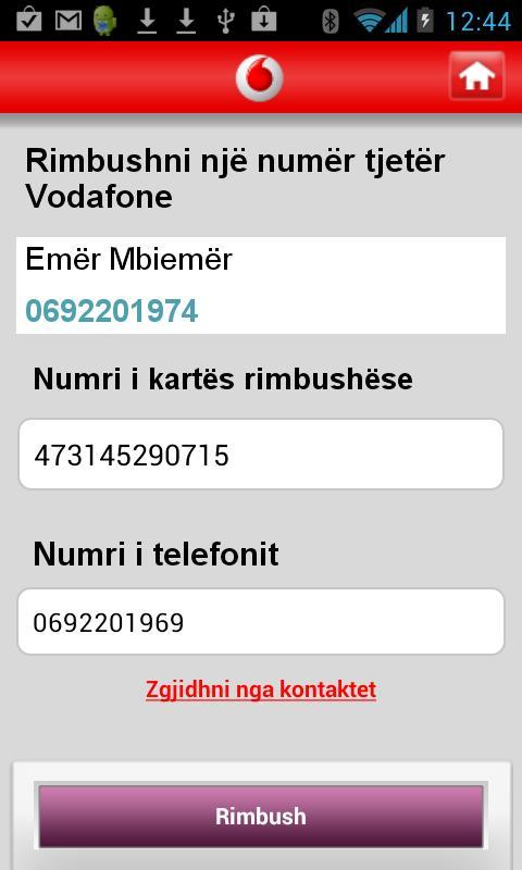 My Vodafone (AL) - screenshot