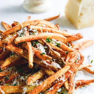 Herb Salted Garlic Parmesan French Fries.