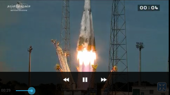 Arianespace HD Capture d'écran