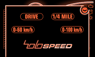 Screenshot of holoSpeed RACER (HUD for car)
