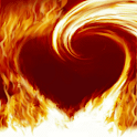 Heart of Fire Live Wallpaper icon