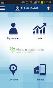 Alpha e-statements - náhled