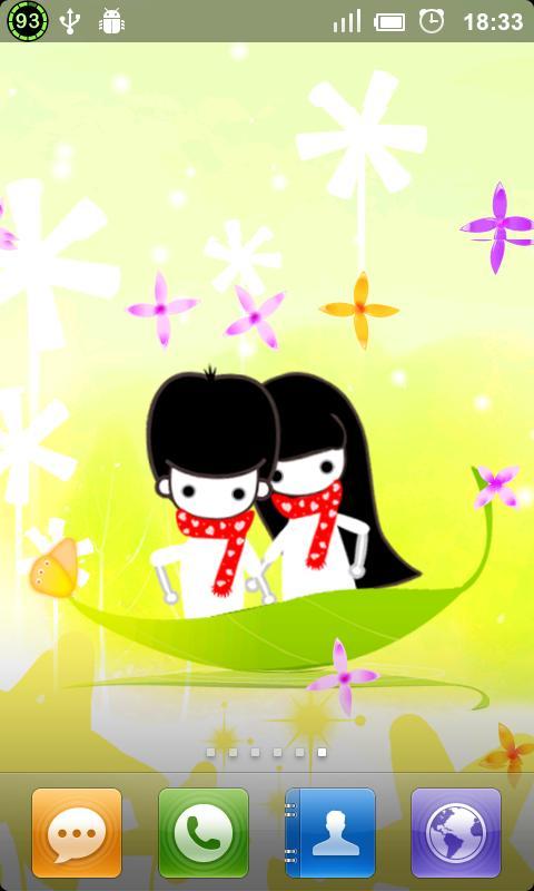 Together Live Wallpaper- screenshot