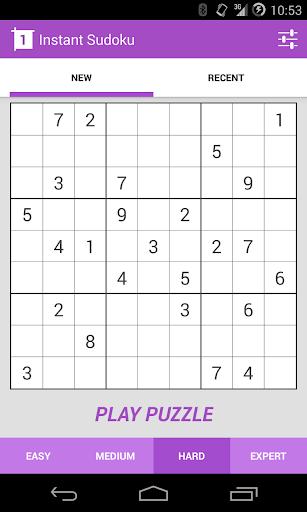 Instant Sudoku