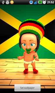Rasta Baby Live Wallpaper - screenshot thumbnail