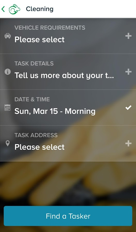 TaskRabbit- screenshot