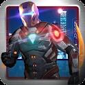 Iron Cop Avenger Ninja Run