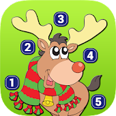 Christmas Kids Connect Dots