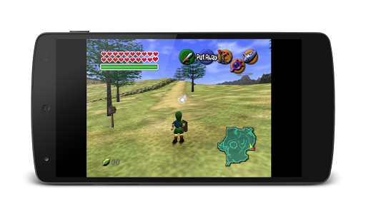 MegaN64 (N64 Emulator)  captures d'écran 1