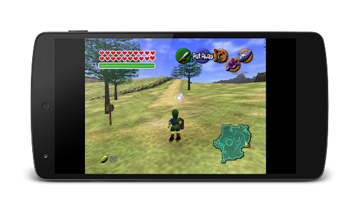 MegaN64 (N64 Emulator) Screenshot
