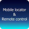 Mobile locator Remote control icon