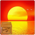 ocean sunset LWP icon