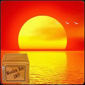 ocean sunset LWP