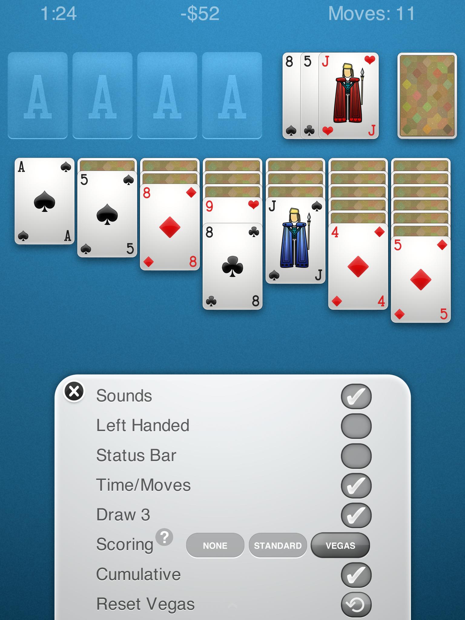 Solitaire screenshot #10
