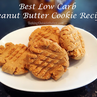 Best Low Carb Peanut Butter Cookie.