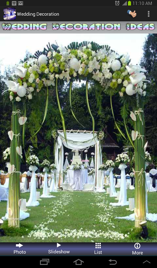 wedding decoration ideas screenshot