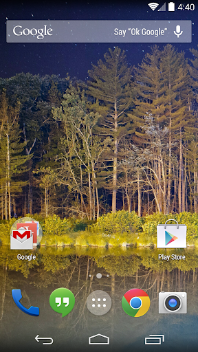 Google 即時資訊啟動器