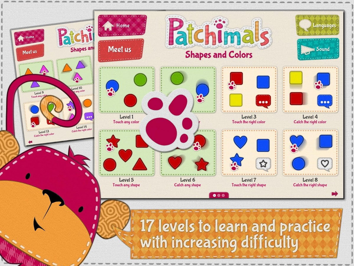 Patchimals - Shapes and Colors- screenshot