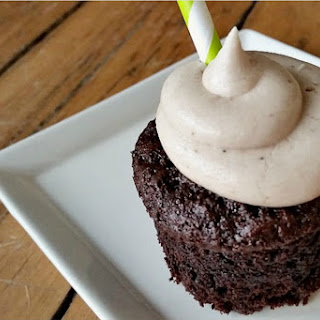 Chocolate Stout Cupcakes With Irish Cream Frosting [Vegan]