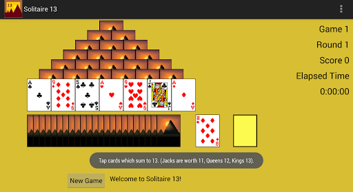 Solitaire 13 with Leaderboards