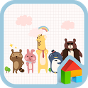chic animals dodol theme icon