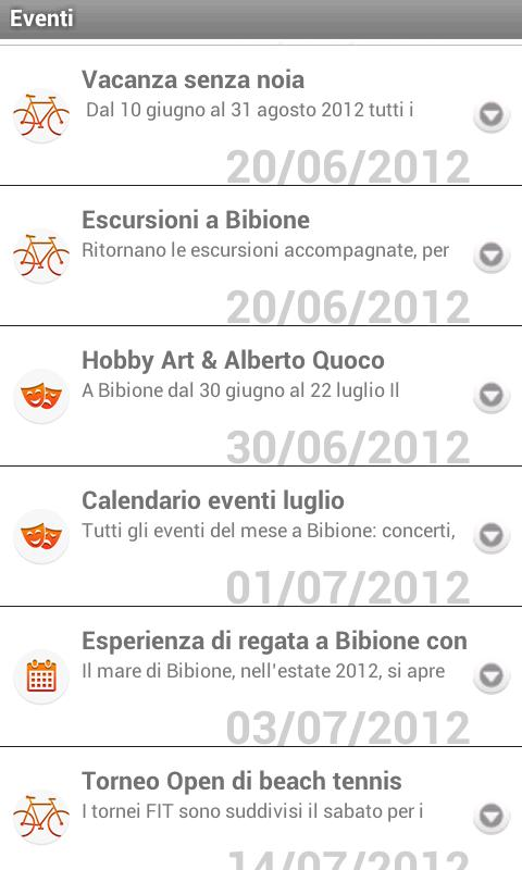 Bibione Official Guide 2013 - screenshot