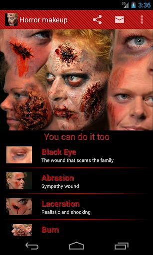 Halloween Horror Makeup Free
