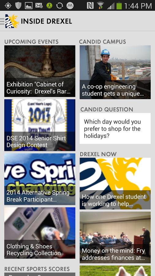DrexelOne - screenshot