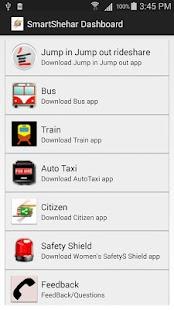 Mumbai Dashboard - SmartShehar - screenshot thumbnail