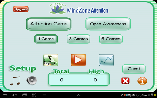MindZone Attention