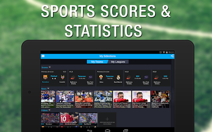 365Scores: Live Sports Scores Screenshot 1