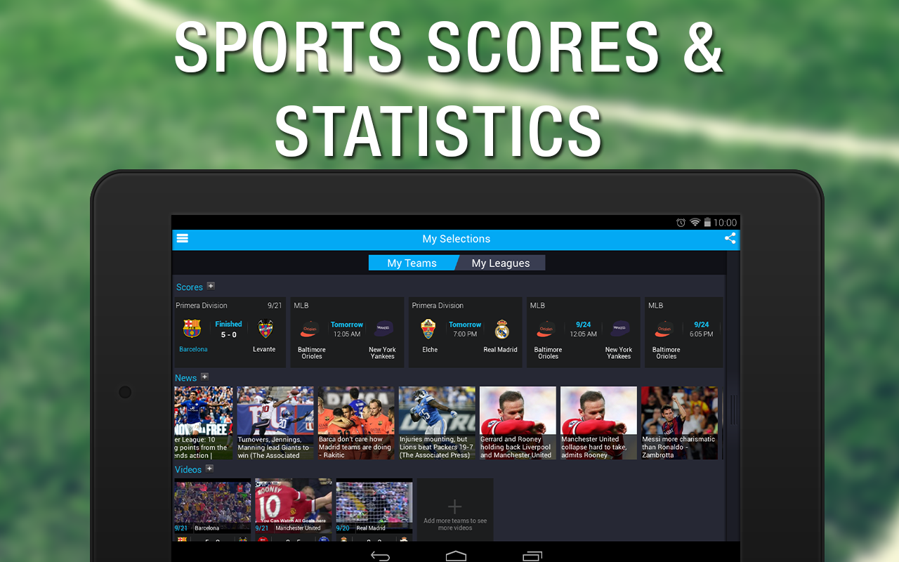 365Scores: Live Sports Scores - screenshot