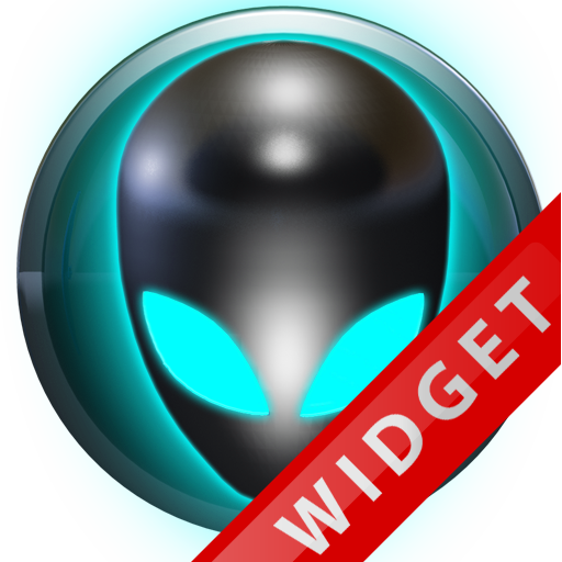 Poweramp Widget Lightblue Alie