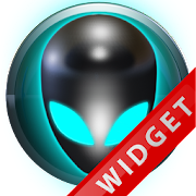 Poweramp Widget Lightblue Alie icon